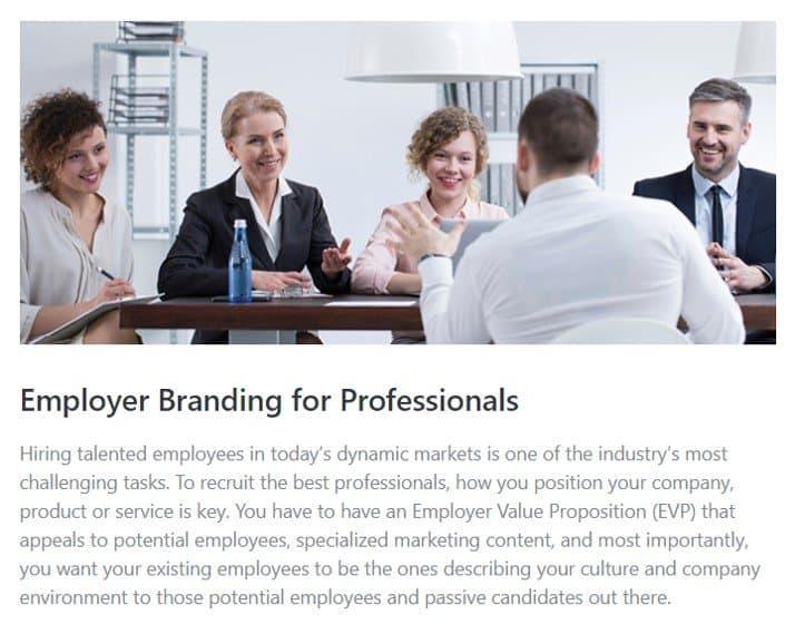 Employer Branding Professionals