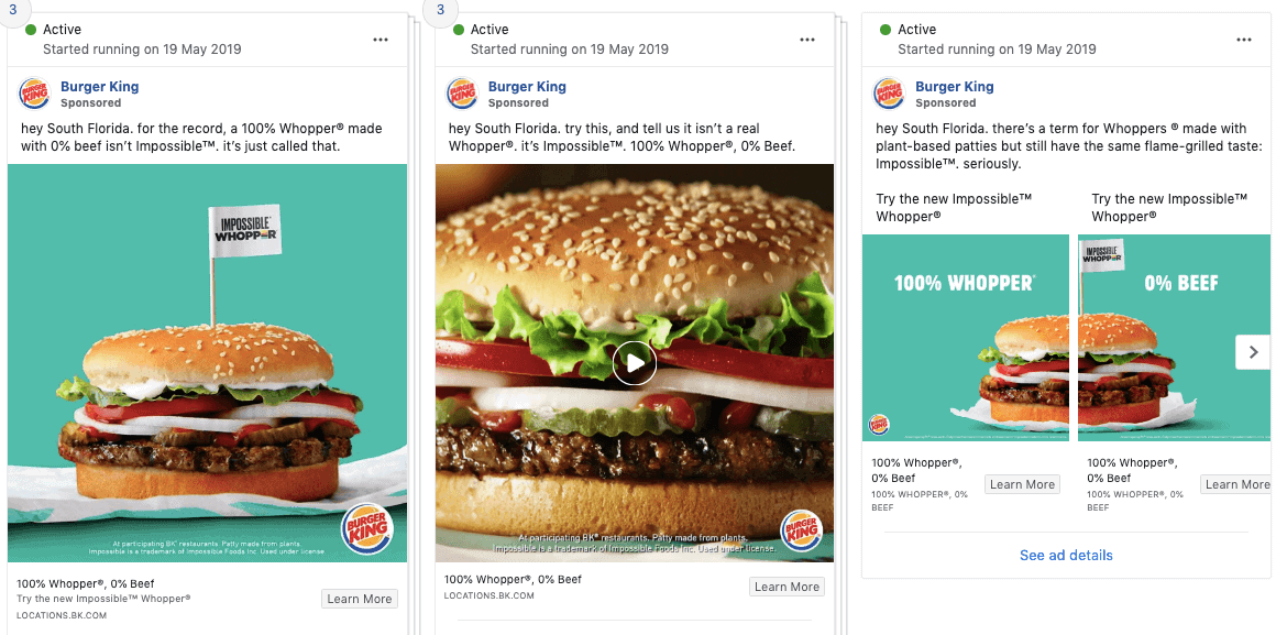 2 - Transparency of ads through the Facebook library