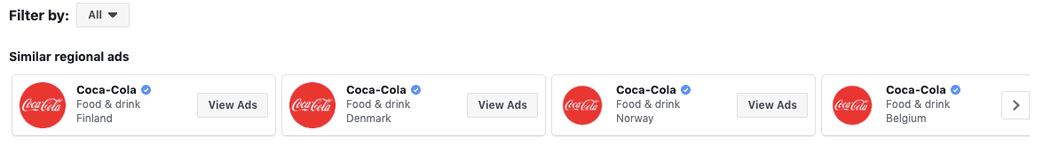 3 - Transparency of ads through the Facebook library