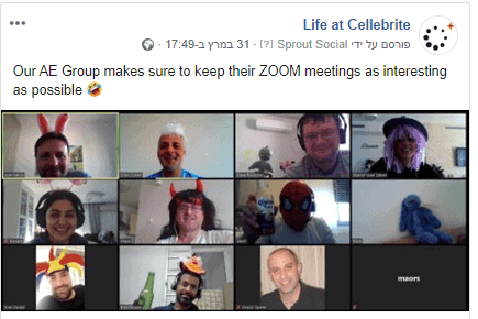cellebrite - I See Your True Colors – Remote Employer Branding